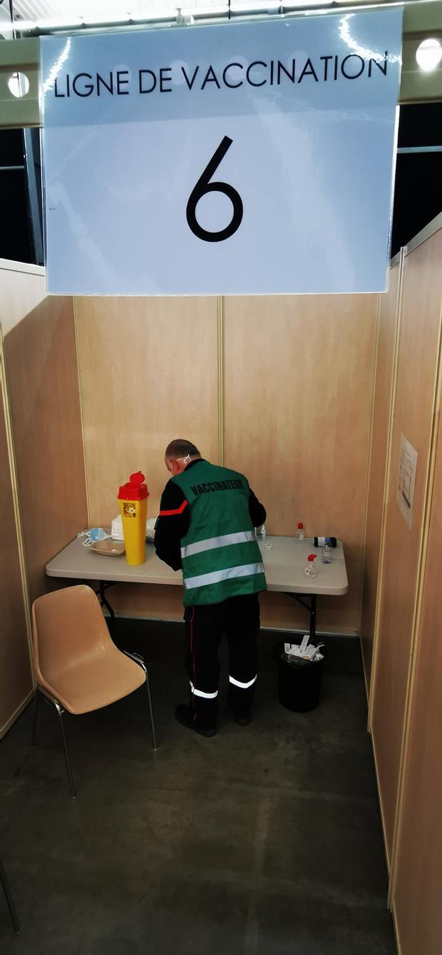 Vaccination ouverte à Rochexpo !