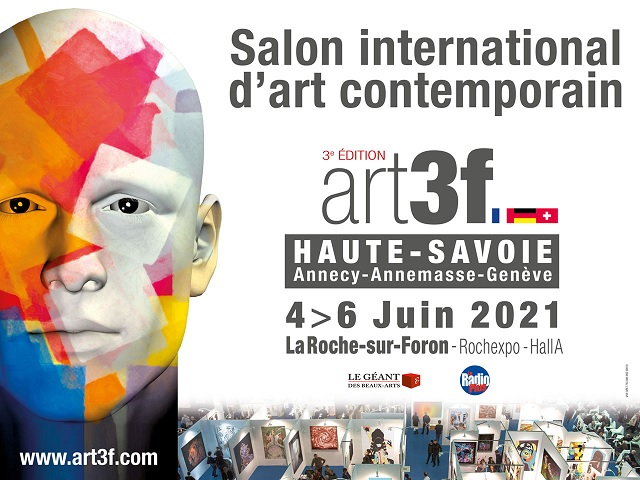 Art3f salon international d'art contemporain - 3e édition